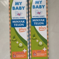 my baby oil minyak telon plus 150ml