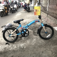 Sepeda Lipat / Folding Bike United Stylo 16