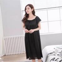 Baju Tidur Wanita Daster 833 Besar Cantik Murah XXL Big Size Sleepwear