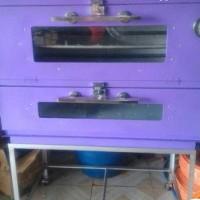 oven gas bekas kondisi 95%