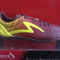 promo sepatu futsal specs photon warna coklat kuning ORIGINAL