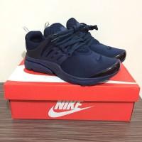 Nike air presto triple navy Premium / sepatu sneakers murah terbaru