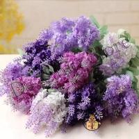 Bunga Lavender artificial flower - Buket bunga Lavender plastik