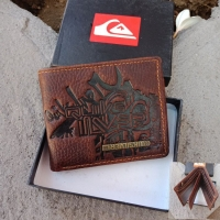 Dompet Oakley Brown Name Quiksilver Besi