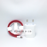 Charger Iphone 5 S 6 S 7 Plus Lightning Cable Adaptor RED Edition OEM