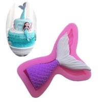 Silicone Mould Mermaid Tail / Cetakan silikon buntut mermaid