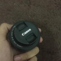 Lensa fix canon eos m3 22mm F2.0