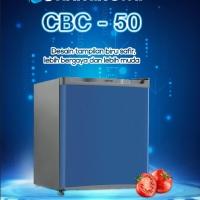Jual KULKAS PORTABLE MINI BAR REFRIGERATOR CHANGHONG CBC-50 BLUE SAFIR Murah