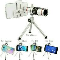 Lensa kamera handphone hp 12 x zoom portable mobile phone tele lens