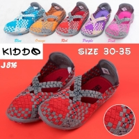 Kiddo J816 junior anak sepatu rajut ORI IMPORT