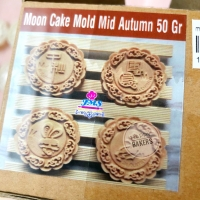 Cetakan mooncake 50gr Autumn/cetakan kue bulan 50gr Autumn
