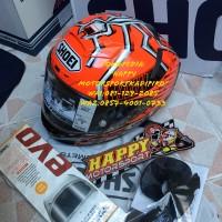 Helm full face shoei X14 Marquez Red Antz ori Japan 2018 size M L XL