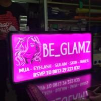 Neon box 40 x60 cm