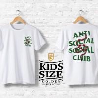 1a23289acfa7 Anti social social club x gucci / branded tshirt / kids size