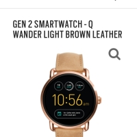 Fossil smartwatch Q Wander light brown gen 2