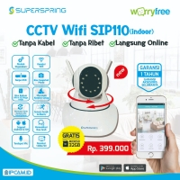 GRATIS 32GB - IP Camera WiFi Super Spring SIP 110 ipcam ip cam