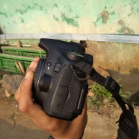 Jual kamera dslr canon 60d second