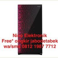 Harga free ongkir kulkas sharp shine series lemari es 1 pintu sj   Hargalu.com