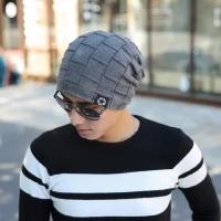 Topi Kupluk Tebal Lapis Bulu Beanie Hat Import