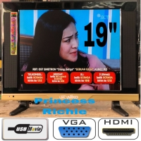 Harga niko led tv 19 inch usb movie vga | Pembandingharga.com