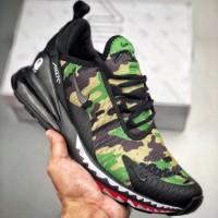 e9e476ab24664 Nike Airmax 270 x Bathing Ape Camo Green Premium Original