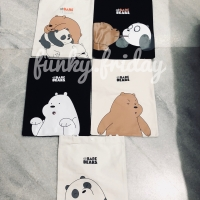 MINISO WE BARE BEAR SHOPPING BAG
