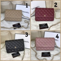 Tas wanita merk Chanel wallet on chain mini import Semi premium