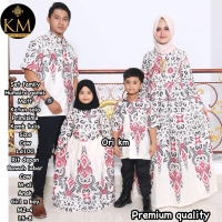 Gamis Humaira Family Couple batik