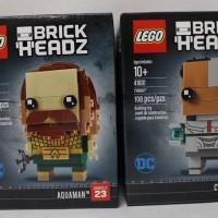 lego brickheadZ aquaman + cyborg