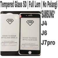 Tempered Glass Samsung J4 - J6 - J7 Pro Full Cover 5D