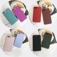 Casing Softcase iPhone 5 6 7 8 X bahan silikon lembut
