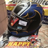 Helm fullface Arai RX7X Nakasuga 2018 Matt size M L XL original Japan