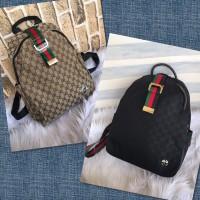 Tas Ransel pria wanita merk Gucci import Semi premium