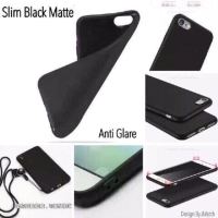 Slim Black Matte Lenovo A1000 4.0 inchi Baby Skin Soft Case Anti Glare