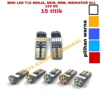LED T10 CANBUS EPISTAR 15 TITIK NO ERROR BY ND1 pcs