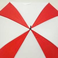 """Payung Panjang Kotak Merah Putih (Segi empat) 24"""""""