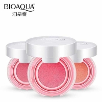 BIOAQUA NO 01 LIGHT PINK BLUSH ON smooth cushion muscle flawless