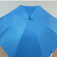 Payung Golf Biru Laut dalam Silver + Sarung