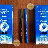 Ball Point Pen PILOT BPT-P hitam/biru Pulpen/bolpen PILOT