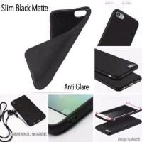 Slim Black Matte Lenovo A2010 4.5 inchi Baby Skin Soft Case Anti Glare