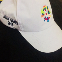 Topi kaos asian games 2018
