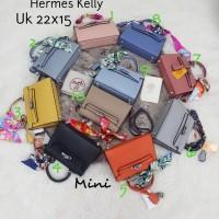 Tas wanita merk Hermes Kelly import Semi premium