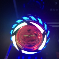 Lampu Projie U27R Rainbow 3.5 Inch Angel Nanas Biru Runing WMP-0603