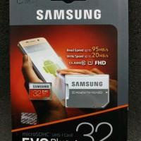 Memory Card SAMSUNG MicroSD 32GB Evo Plus 95MBs Class 10 FHD