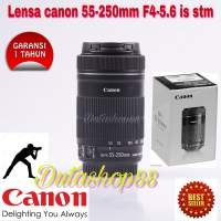 Lensa canon 55-250mm ef-s f/4-5.6 is stm - lensa 55-250mm stm canon