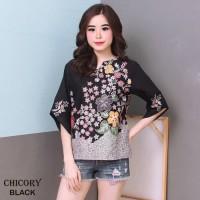 CHICORY TOP - Atasan Batik Blouse Batik Modern Wanita
