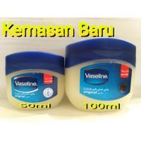 Vaseline Pure Petroleum Jelly 60ml Vaselin Arab Original Petrolatum