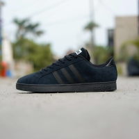 Adidas Neo Baseline Black Suede sz 40-44