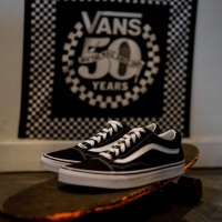 Vans Old Skool Canvas Black/True White