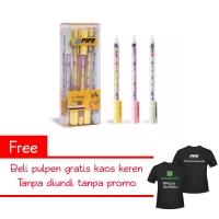 Paket Berhadiah Kaos Pulpen Merk PIPO PPG038 F2 Fancy Butterfly